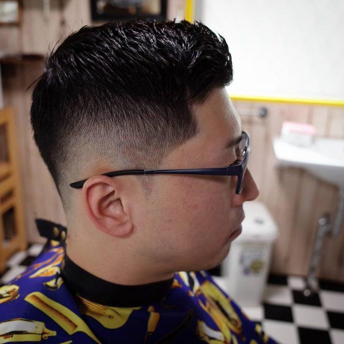 髪型 バーバーカット
